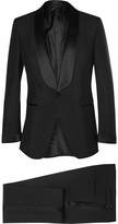 Tom Ford - Black Slim-fit Mohair And Wool-blend Tuxedo