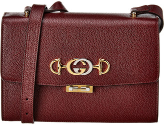 Gucci Zumi Small Grainy Leather Shoulder Bag