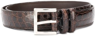 Orciani Caiman leather belt