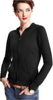 Charter Club Sweater, Long-Sleeve Cashmere Zip Hoodie