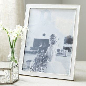 "The White Company Resin Photo Frame 8x10"", White, One Size"