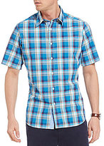 Daniel Cremieux Jeans Plaid Short-Sleeve Woven Shirt