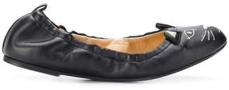 Charlotte Olympia Kitty ballerina shoes