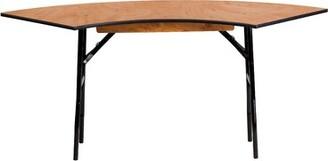 "48"" Semi Circle Folding Table Flash Furniture"