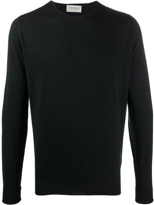 John Smedley Wool Long Sleeve Jumper