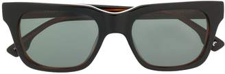 Le Specs Fellini rectangular frame sunglasses