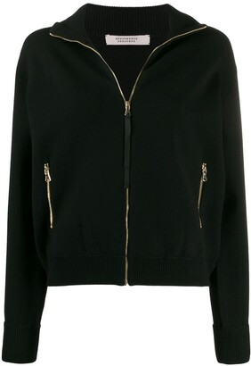 Schumacher Dorothee zipped long-sleeve cardigan
