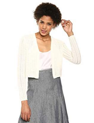 Theory Women's Long Sleeve Crochet Cardi