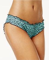 Sundazed Mermaid Ruffled Cheeky Bikini Bottoms, Only at Macy's