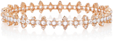 Nam Cho 18K Pink Gold Diamond and Sapphire Bracelet