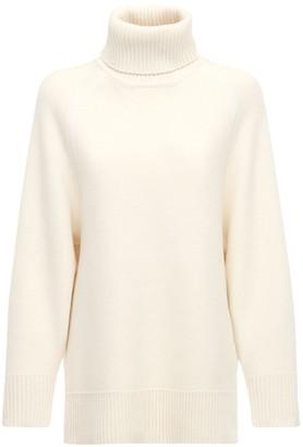 Y-3 Wool Blend Knit Turtleneck Sweater