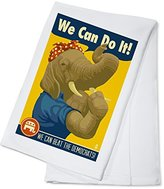Rosie the Elephant - Republican - Political (100% Cotton Kitchen Towel)