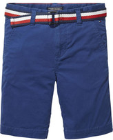 Tommy Hilfiger Ame Belt Chino Short Mstrt