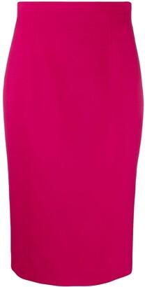 Alexander McQueen High-Waist Pencil Skirt
