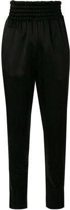 Giambattista Valli High-Waist Track Trousers