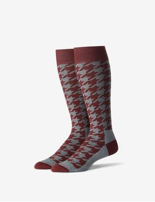 Tommy John Tommyjohn Houndstooth Stay-Up Dress Sock