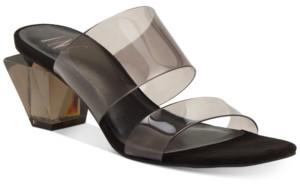 INC International Concepts Inc Women's Calantha Slide Dress Sandals, Created for Macy's Women's Shoes
