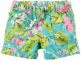 Carter's Pull-On Printed Poplin Shorts