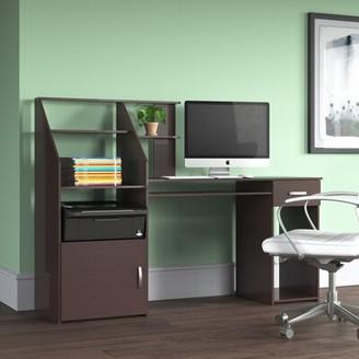Latitude Run Anas Computer Desk Color: Espresso
