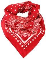 Dolce & Gabbana Hearts Printed Cotton Bandana