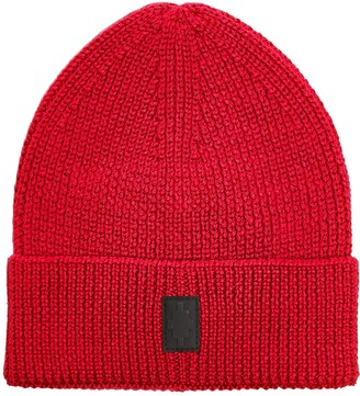 Marcelo Burlon County of Milan Cross Knitted Beanie