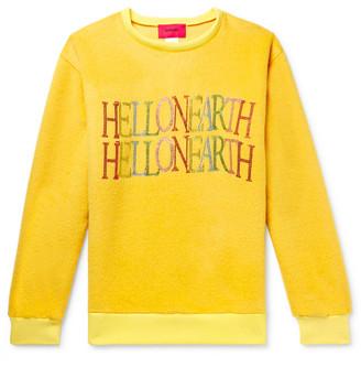 Who Decides War By Ev Bravado Embellished Cashmere And Mohair-Blend Sweatshirt