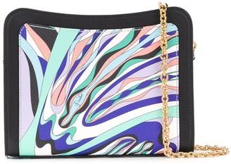 Emilio Pucci Burle Print Shoulder Bag