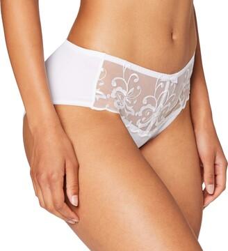 Playtex Women's Essential Elegance Broderie Culotte Midi Underwear