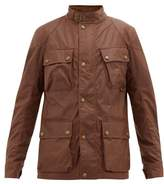 Belstaff Fieldmaster Waxed-cotton Jacket - Mens - Light Brown