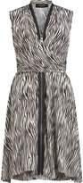 AllSaints Jayda Zebra Dress