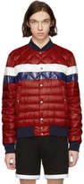 Moncler Red Down Itiner Jacket