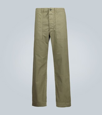 Ralph Lauren RRL Straight-fit herringbone pants