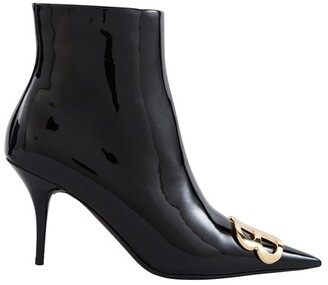 Balenciaga Calf skin leather ankle boots