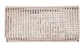 Nina Chicago Crystal Stripe Clutch