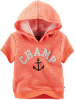 Osh Kosh Oshkosh Baby Bgosh Short-Sleeve Pullover Hoodie - Baby Boys newborn-24m