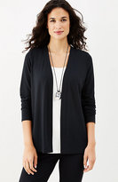 J. Jill Wearever Pleated-Back Jacket