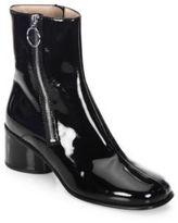 Marc Jacobs Leather Double Zip Booties