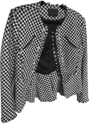 Alexander Wang Black Tweed Jacket for Women