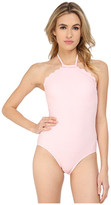 Kate Spade Marina Piccola High Neck Maillot