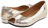 French Sole Fortune (Platino Snake Print) - Footwear