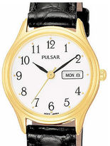 Pulsar Womens Leather Strap Watch