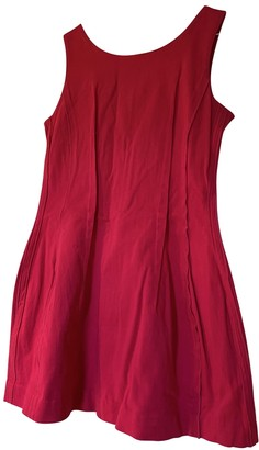Religion Pink Cotton Dress for Women