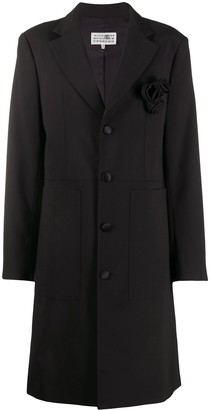 MM6 MAISON MARGIELA Corsage Single Breasted Coat