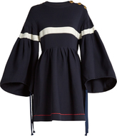 Sonia Rykiel Oversized bell-sleeved dress