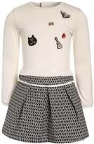 Catimini ETHNOCITY Jersey dress craie