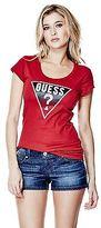 GUESS Women's Tracy Logo Tee