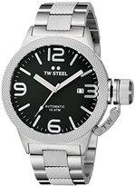 TW Steel Men's CB5 Analog Display Quartz Silver Watch