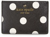 Kate Spade Women's 'Cedar Street' Card Holder - Black