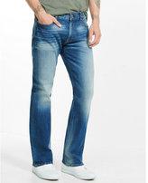 Express boot leg classic fit flex stretch jeans