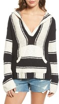 Pam & Gela Women's Stripe Baha Pullover
